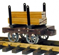 Ministeam Flatbed Truck Gauge 1 (45mm) Kit