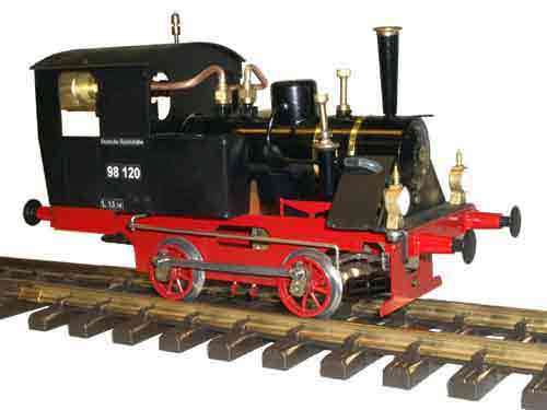Ministeam Kurt Locomotive Gauge 1 (45mm) Kit